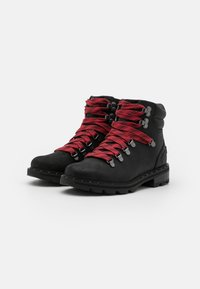 Sorel - LENNOX HIKER - Lace-up ankle boots - black - 2