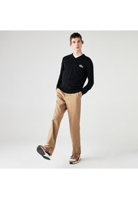 Lacoste - LACOSTE X NATIONAL GEOGRAPHIC - Jumper - bleu marine / blanc - 0