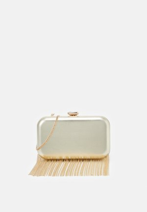 FREDERICA CHAIN FRINGE - Clutch - gold-coloured
