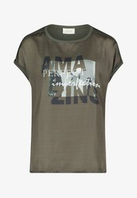 Cartoon - Print T-shirt - khaki/grey - 3