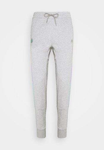 DONOVAN MITCHELL BASKETBALL PANTS - Pantaloni sportivi - medium grey heather