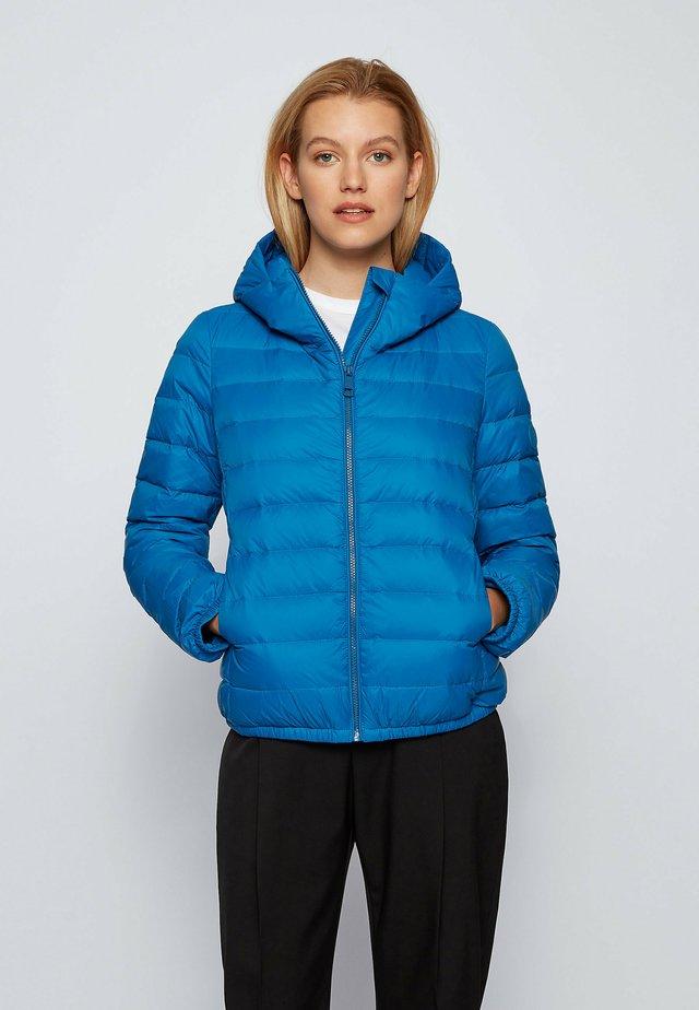 PAFLAFFY - Gewatteerde jas - open blue