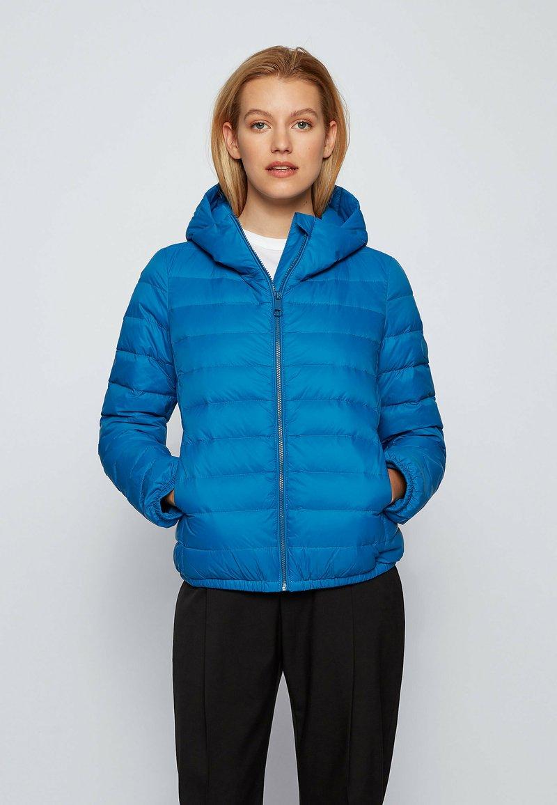 BOSS - PAFLAFFY - Down jacket - open blue