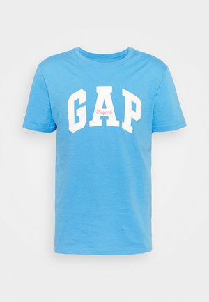 LOGO ARCH - T-shirt z nadrukiem - break blue