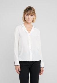 HUGO - EMOLA - Button-down blouse - natural - 0