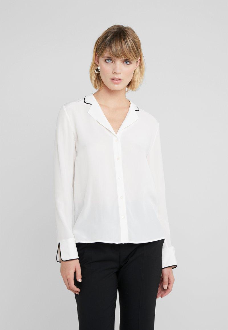 HUGO - EMOLA - Button-down blouse - natural