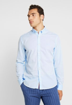 FINE BEDFORD GARMENT DYED - Shirt - airblue