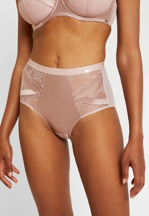 CHICAGO DEEP BRIEF - Culotte - wood/rose