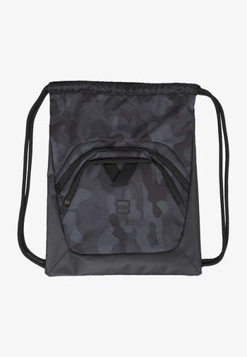 Across body bag - black/dark camo/black