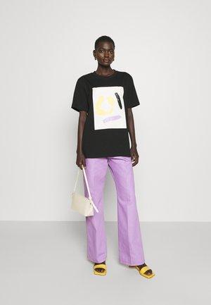 SAWYER  - Jeans Straight Leg - lilac
