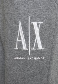 Armani Exchange - PANTALONI - Tracksuit bottoms - grey - 2