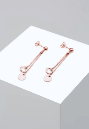 CIRCLE STICK BASIC - Pendientes - rose gold-coloured