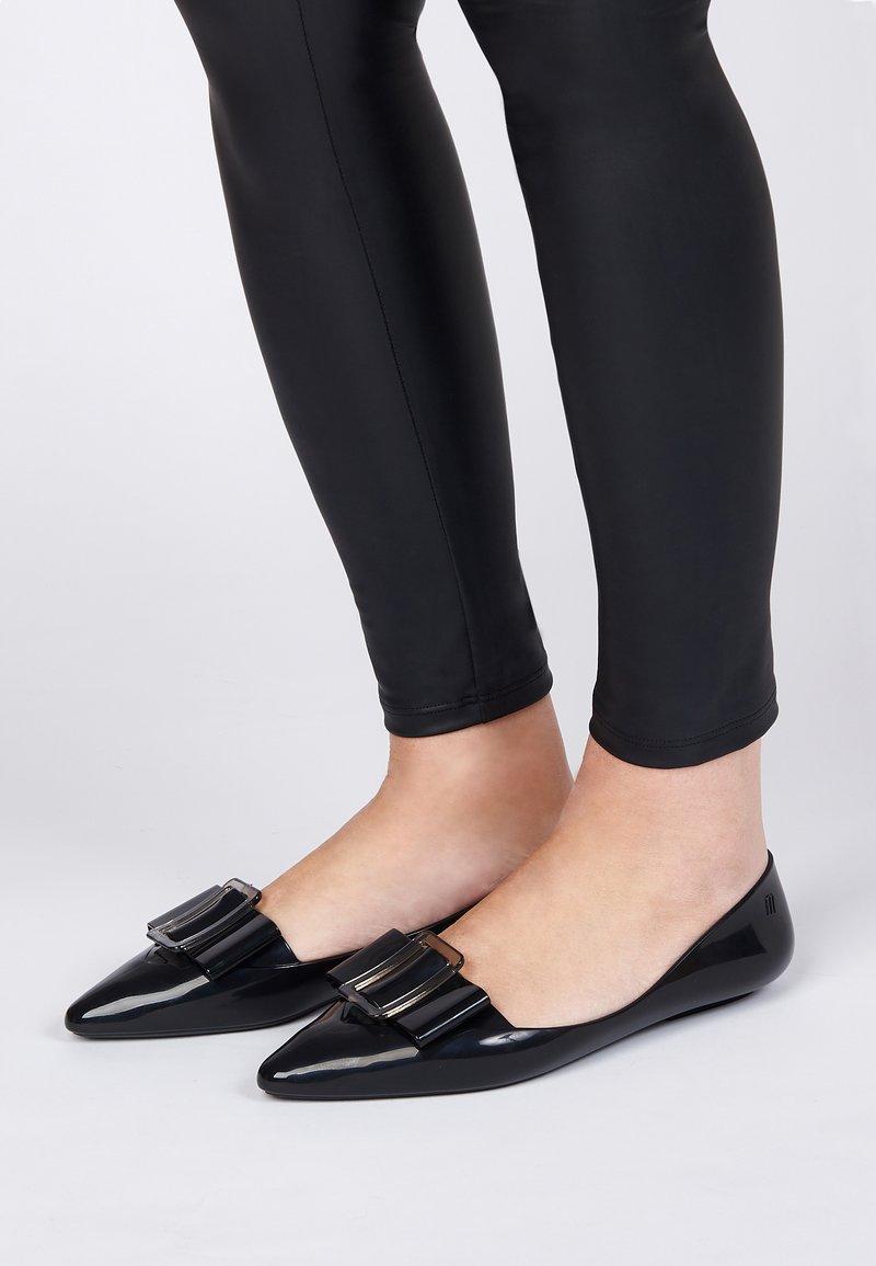 Melissa - POINTY - Ballet pumps - black