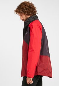 Columbia - RAIN SCAPE - Waterproof jacket - dark purple, mtn red, red jasper, shark - 3