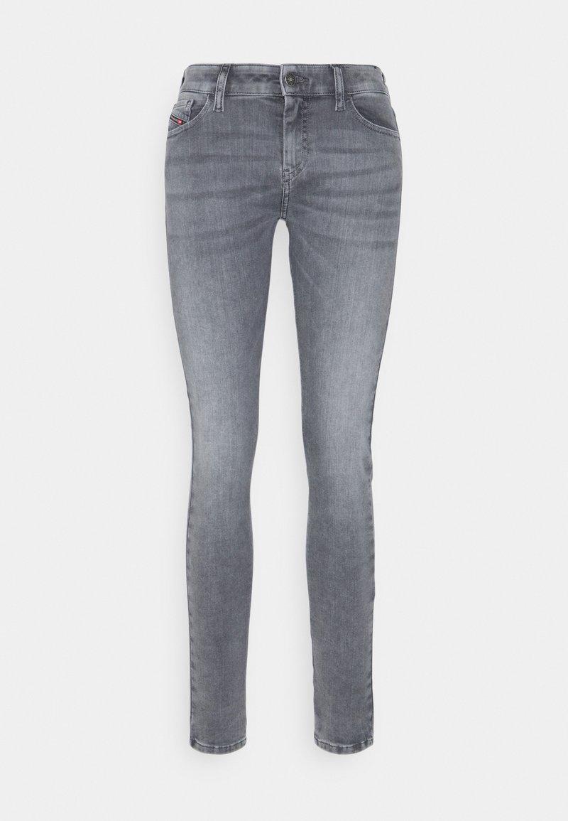 Diesel - SLANDY - Jeans Skinny Fit - grey
