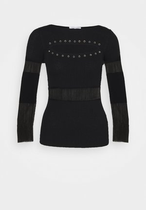 CUT OUT STUD  - Jumper - nero