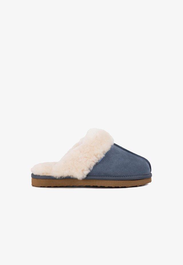 ANN TAN - Slippers - blue
