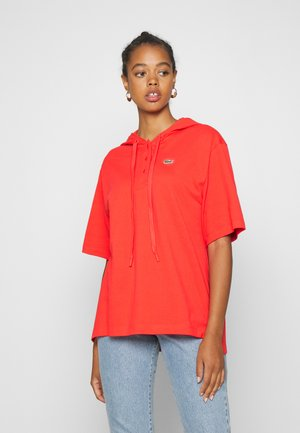 Print T-shirt - energy red