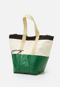 Vivienne Westwood - WORKER RUNNER HOLDALL - Tote bag - green/beige - 3
