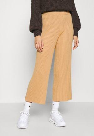 CALAH TROUSERS - Bukse - beige