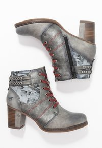 Mustang - Ankle boots - grau - 3