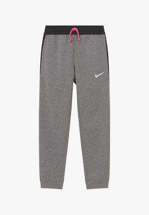 KYLIAN MBAPPE HYBRID - Tracksuit bottoms - carbon heather/black/white