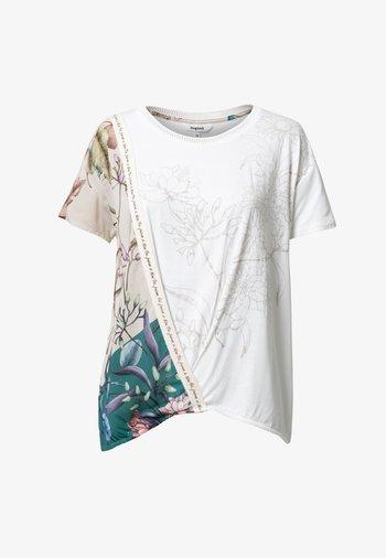 EDIMBURGO - Print T-shirt - white