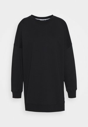 MALVA OVERSIZED CREW - Mikina - black beauty