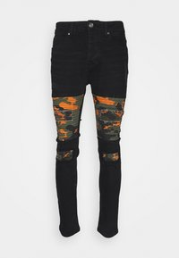Brave Soul - ROBBIN CAMOO - Jeans Skinny Fit - charcoal wash - 4