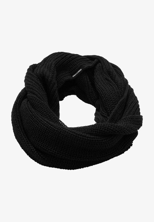 Szalik komin - black