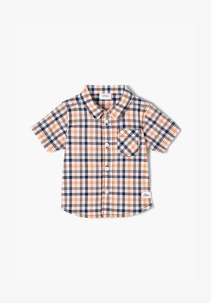 Shirt - blue/orange