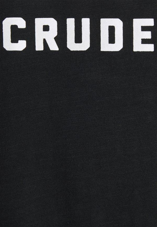 Petrol Industries T-shirt z nadrukiem - black/czarny Odzież Męska IRCT