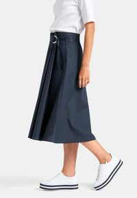 PETER HAHN - ROCK ROCK - A-line skirt - marine - 3