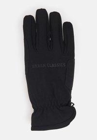 Urban Classics - PERFORMANCE WINTER GLOVES - Gloves - black - 1