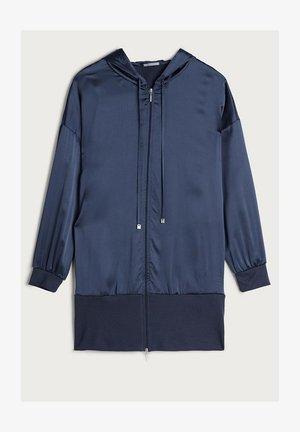 KAPUZENJACKE AUS SEIDE UND LYOCELL - Pyjama top - blau - 383i - elegant blue