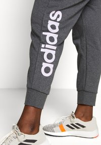 adidas Performance - PANT - Joggebukse - dark grey heather/purple - 3