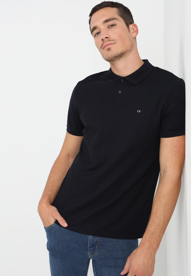 Calvin Klein - REFINED CHEST LOGO - Koszulka polo - sky captain