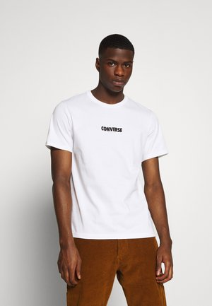 ALL STAR  ARCHIVE TEE - Triko s potiskem - white