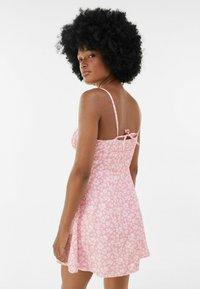 Bershka - Sukienka letnia - pink - 2
