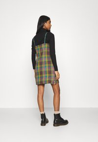 The Ragged Priest - CHECK CAMI DRESS SIDE SEAM ZIPS - Kjole - multi check - 2