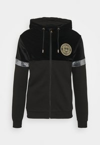 Glorious Gangsta - ARMANDO ZIPHOODIE - Zip-up sweatshirt - jet black - 4