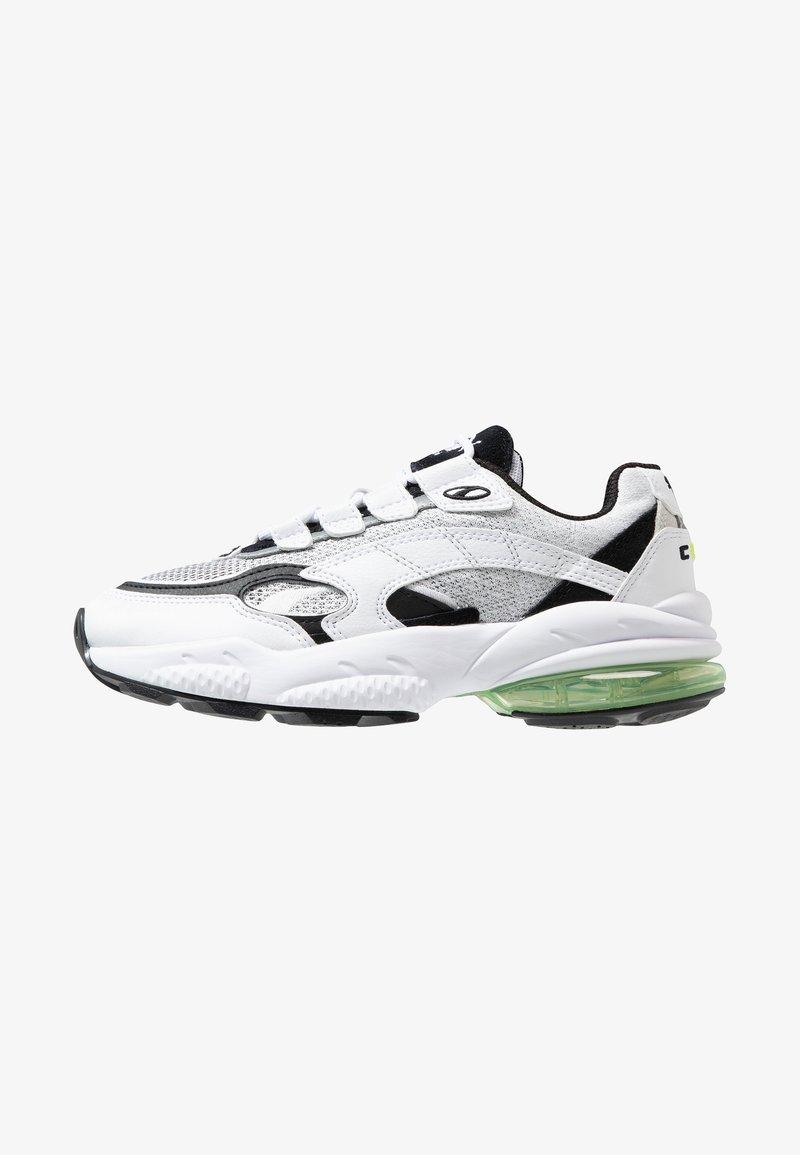 Puma - CELL ALERT - Sneakersy niskie - white/black