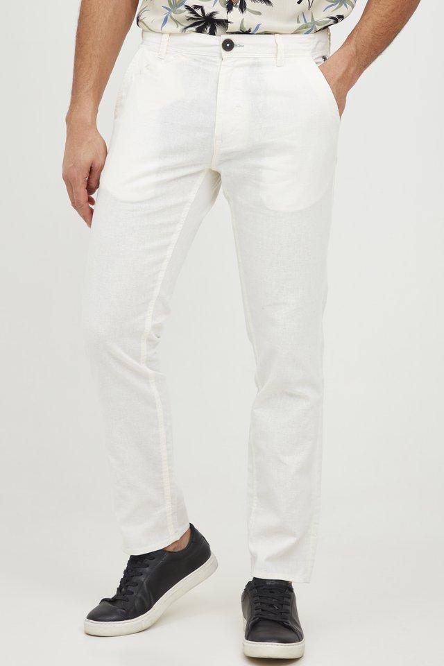 PANTS - Spodnie materiałowe - egret