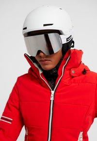 Flaxta - PRIME UNISEX - Ski goggles - white - 4