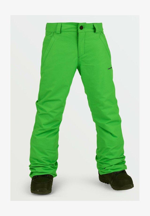 FREAKIN SNOW CHINO - Pantaloni da neve - green