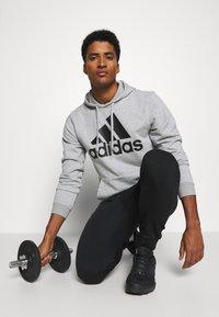 adidas Performance - SET - Träningsset - medium grey heather/black - 5