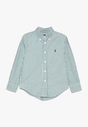 Overhemd - green/white