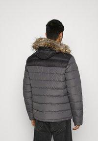 Brave Soul - INVERNESS - Winter jacket - black/grey - 2