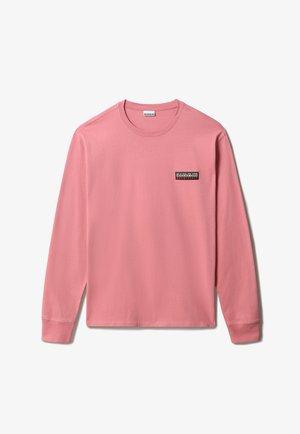 S-PATCH LS - Långärmad tröja - pink lulu