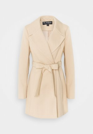 SKATER BELTED ROBE - Cappotto classico - camel